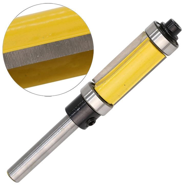 Broca para enrutador con ajuste / rasante, cojinete superior e - Máquinas herramientas y accesorios - foto 3