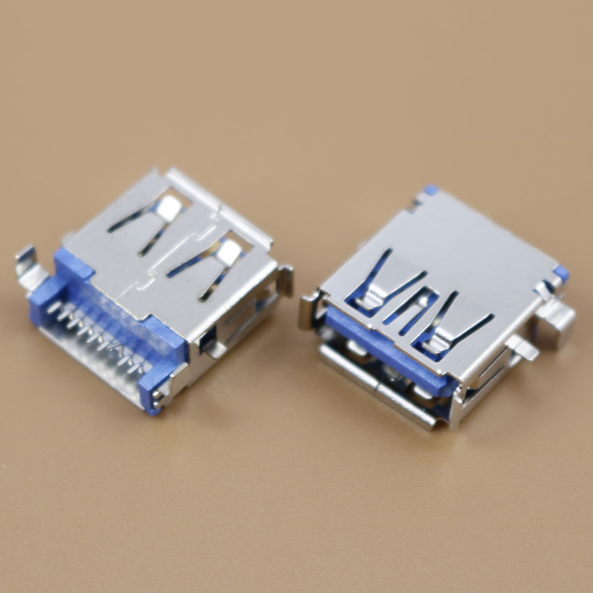1 pcs/lot New 3.0 USB Jack female Port Connector for SONY Toshiba Samsung DELL motherboard 3.0 USB Sockect