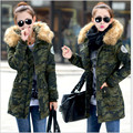 New 2017 Warm Winter Jacket Women casual female Parka Hoodie cotton-Parka Thick Jackets fur Winter Coat Women manteau femme H166