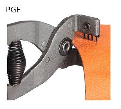 PGF Silent ling chop piers Diamond cut punch կաշվե դակիչ - Արվեստ, արհեստ և կարի - Լուսանկար 3