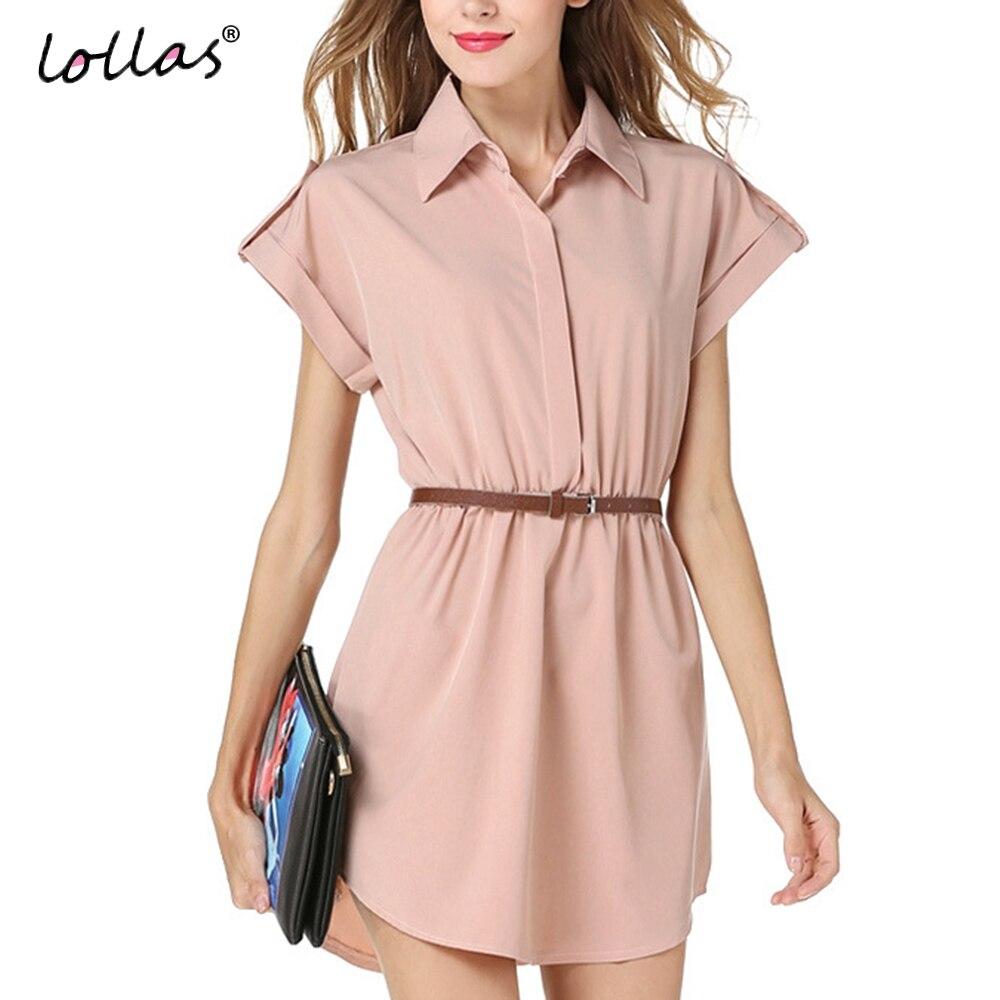 Dress up diary baju pelaut - Lollas Lady Musim Panas Ditambah Wanita Ukuran Chiffon Lapel Collar Blouse Wanita Kemeja Lengan Pendek Blus