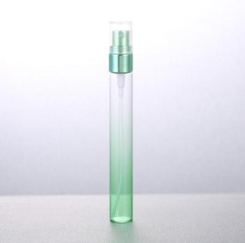 10 ml Gradient Colors Refillable Spray Bottles Mini Glass Atomizer Empty Perfume Bottle Sample Containers LX1232