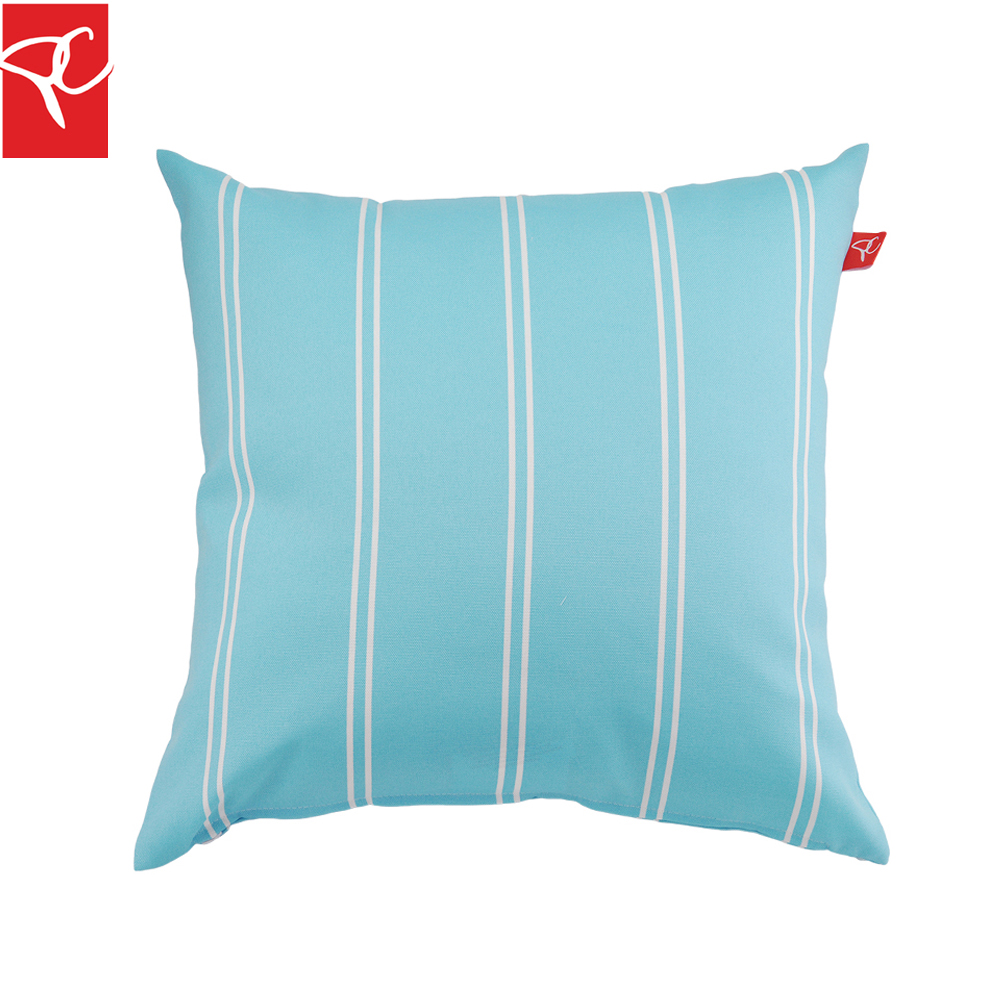 Bed pillow chair - Pc 2pcs Lot Double Line Striped Pillow Water Repellent Polyester Cushion Home Decoratived Car Sofa