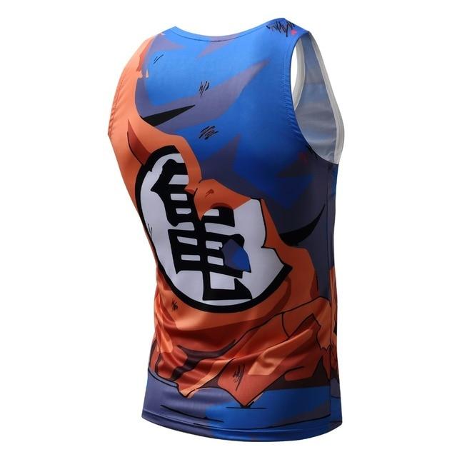 Men Dragon Ball Z Tank Tops Son Goku Vegeta Bodybuilding Vest Sleeveless Super Saiyan Shirt Summer Clothes Homme Dragonball Tee 5