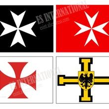 Knights Team Flag 3X5FT 150X90CM Custom Banner brass metal h