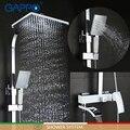 Смеситель для душа GAPPO  хромированный смеситель для ванны и душа с водопадом