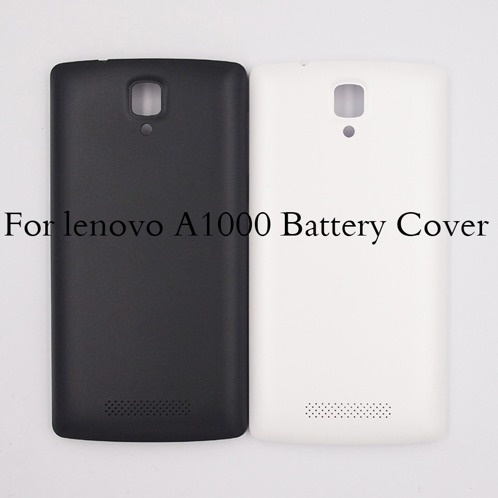 Original  For Lenovo A1000 Battery Cover Back Door Housing Replacement Parts For Lenovo A 1000 Back Door Cover With Logo