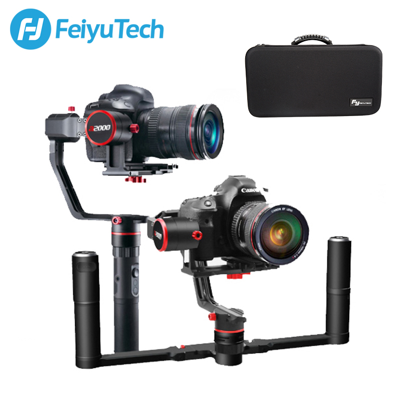 <font><b>FeiyuTech</b></font> <font><b>a2000</b></font> Camera Stabilizer for Mirrorless DSLR Single Handheld <font><b>Gimbal</b></font> for Canon SONY Panasonic 250 - 2500g Payload Feiyu image