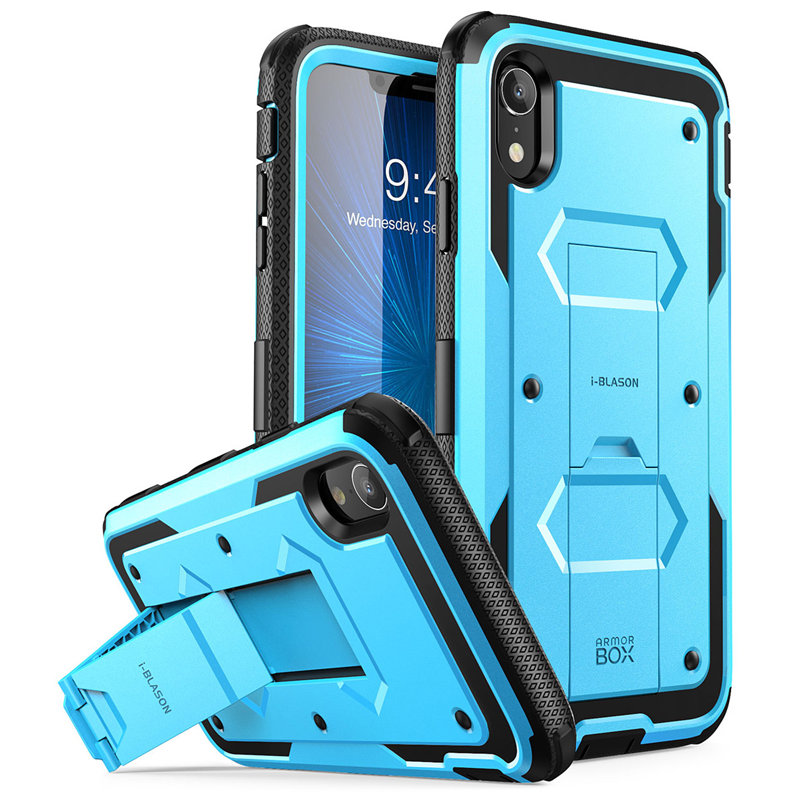 Armorbox Pink Full Body iPhone 8 Plus Case Shock Reduction//Bumper Case for Apple iPhone 7//8 Plus iPhone 7 Plus Case, Heavy Duty Protection i-Blason Built in Screen Protector