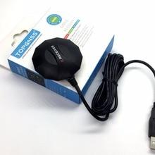 TOPGNSS USB gps ГЛОНАСС приемник антенный модуль USB Выходной протокол, совместимая замена BU353S4