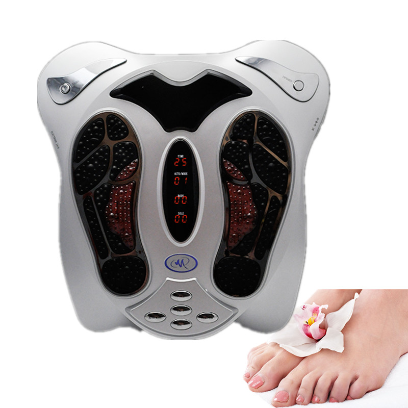 2017 NEW Arrival Electromagnetic Wave Pulse Circulation Foot Massager Reflexology Booster 2016 new electromagnetic wave pulse circulation foot massager reflexology booster free shipping to american