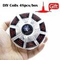 8 em 1 Fio Demônio Assassino Pré-construídos Bobinas Clapton Quad tigre Colméia Alienígena Fundida Clapton Mix Twisted Coil fit DIY atomizador