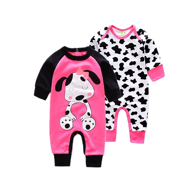 fb4ba2d4f5c Fashion Long sleeve baby Romper Baby Girl Jumpsuit newborn Cartoon Animal rompers  infant newborn cotton Rompers baby Jumpsuit