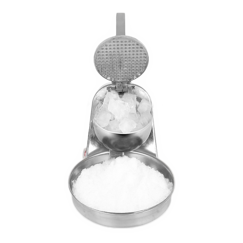 GZZT Ice Crushers Shavers Snow Cone block Machine Commercial Stainless Steel Ice Smoothies Maker DIY Ice Cream Maker in Other Kitchen Specialty Tools from Home Garden