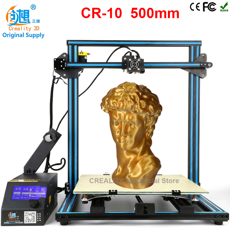 CREALITY 3D Printer CR 10 Pulley Version Linear Guide rail DIY Kit Linear Large Printing Size