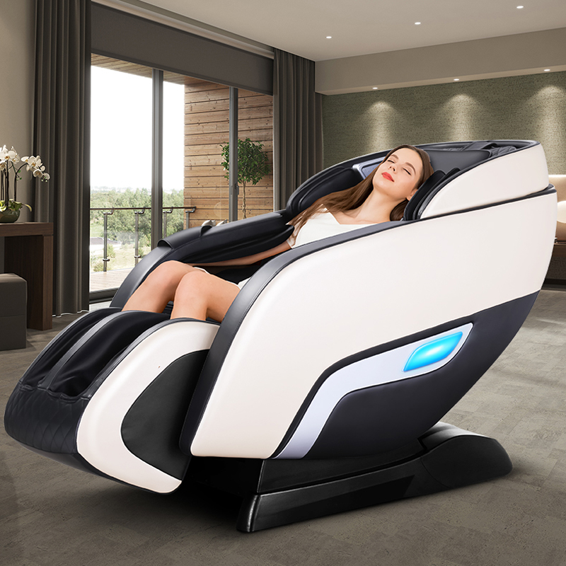 Image 5 - LEK 988R9 luxury electric massage chair Automatic body kneading multi function zero gravity space capsule intelligent massagerMassage Chair   -