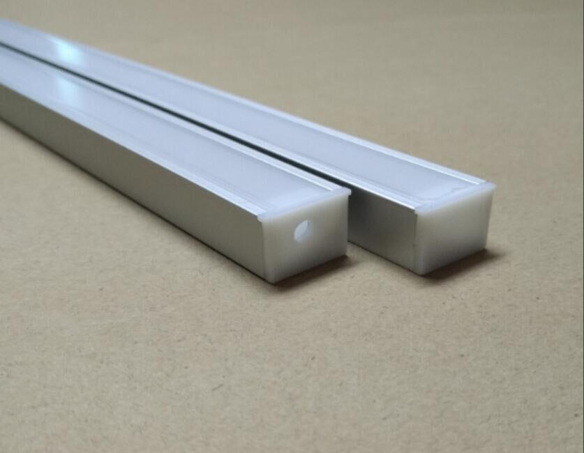 Free доставка новый высокое качество 2 м/шт. 25 шт./лот привело алюминиевый профиль для светодиодных бар свет, светодиодные полосы канала