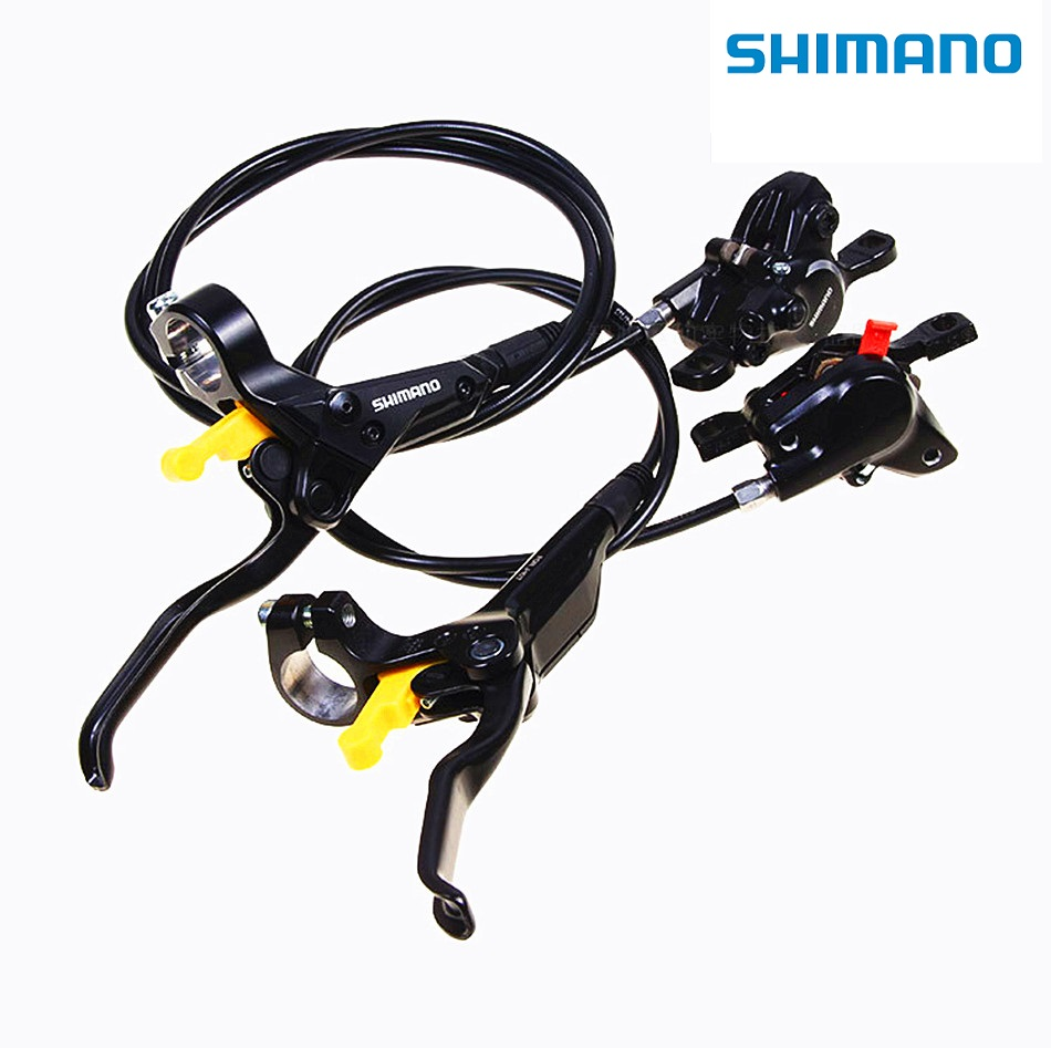 Original SHIMANO BR BL M315 hydraulic disc brakes MTB mountain bike calipers around the lever disc brakes free shipping 2016 new shimano m4050 hydraulic brake intergrate with 3x9s 27s shift lever mtb mountain bike calipers left