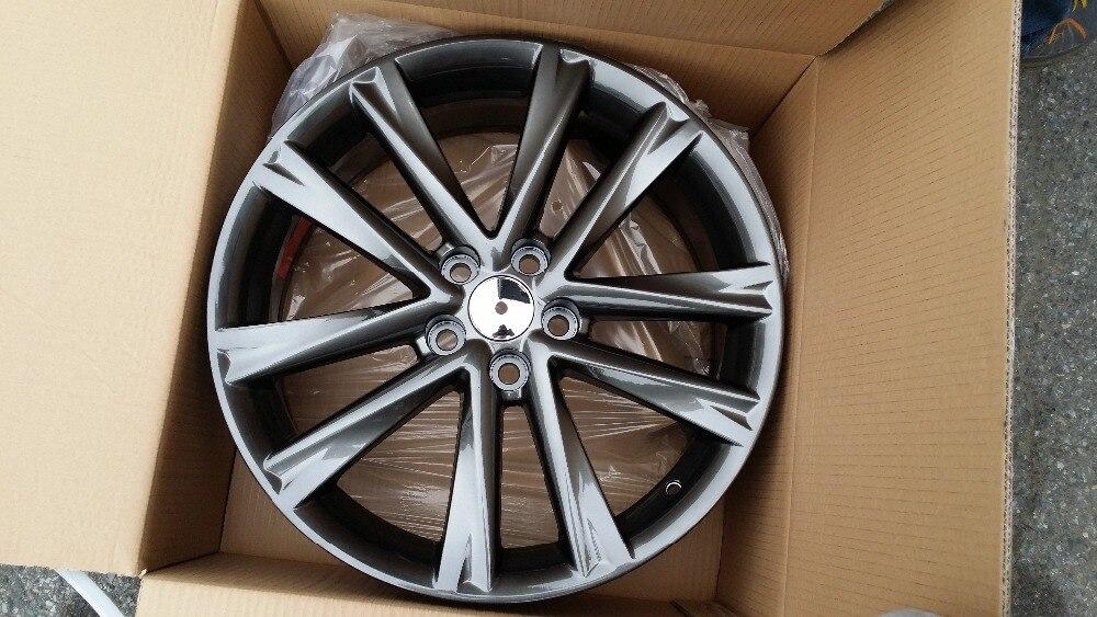4 Новые 19 Gunmetal RX F спортивный стиль колесные диски подходит Lexus RX Toyota Camry GS300 ES330 W225 ...