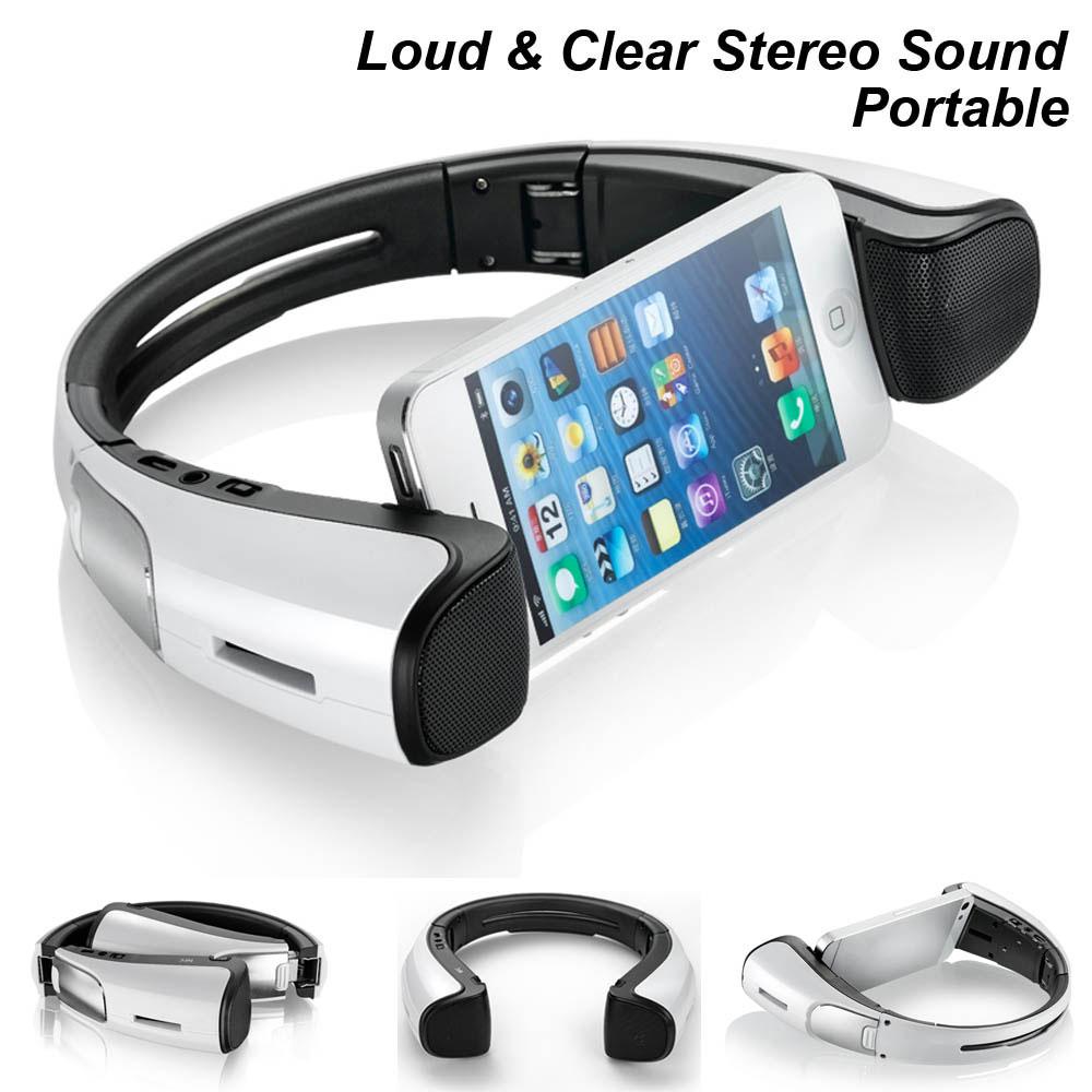 Prix pour Meidong iStage Mini Bluetooth Haut-Parleur Stand pour Téléphone Portable Sans Fil Haut-Parleur Microphone AUX Travail pour Ordinateur MP4 MP3 Lecteur