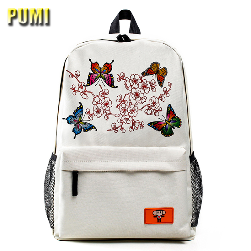 Discolor Printing Large Capacity Canvas Student Backpack Preppy Style Girl Boy Laptop Bag College Casual Rucksack School Bookbag  pleega new 2017 preppy style student leisure school bag teenagers girl canvas backpack boy school backpack big backpack notebook