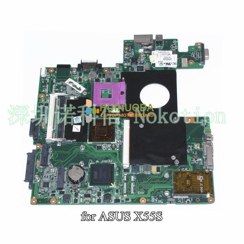 08G2005MS20I Motherboard For Asus M50S x55s x55sv m50sv M50SA MainBoard PM965 DDR2 with graphics slot Free CPU
