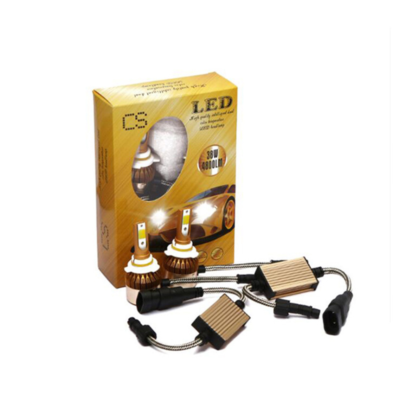 CROSSLEOPARD White Gold Color 12V 10000LM H4 H7 H1 H8 H9 H11 Led Car Headlight 3000K 6000K Dual Color Led Headlamp Auto Bulbs  (16)
