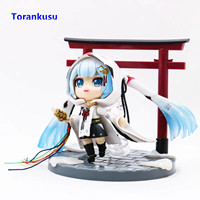 Hatsune Miku Figura Snow Miku Figure Nendoroid Anime Figure Girl Collectible Action Figures Kawaii Collectible Action Figures XP
