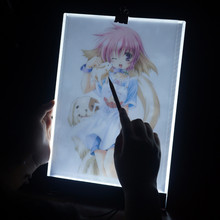 Diy Diamond Copy Board Painting Cross Stitch LED Light Tablet Pad Dimmable A4 Drawing Protect Eye
