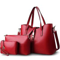 Fu Jiani Bag Spring 2017 Fashion Color Picture Of Three Sets Of Good Quality Handbags Wholesale