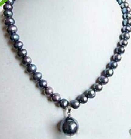 MMC Magic Rhythm Box Pearl Silver Pendants Necklaces