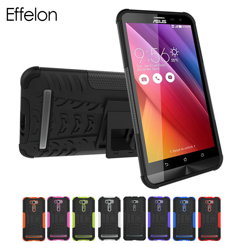 Luxury Cover For <font><b>Case</b></font> <font><b>ASUS</b></font> ZenFone 2 Laser ZE600KL <font><b>ZE601KL</b></font> TPU + PC cell Phone <font><b>Case</b></font> For Coque <font><b>ASUS</b></font> ZE600KL <font><b>ZE601KL</b></font> Back Cover image