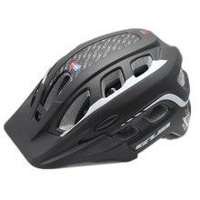 2015 Baru Ultralight Bersepeda Helm Integral Dibentuk Peta Gunung MTB Sepeda Helm Casco Ciclismo