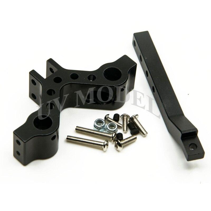 CNN Aluminum Xtra Speed SCX10 Adjustable Drop Hitch Receiver For Axial SCX10 4WD CC01 F350 D90 RC4WD RC Cars