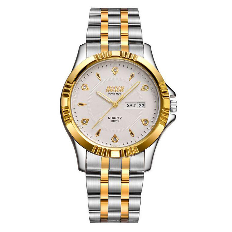 Business Men Quartz Watch Top Brand Luxury Gold Male Dual Calendar Luminous Waterproof Quartz Wrist Watches business men quartz watch top brand luxury gold male dual calendar luminous waterproof quartz wrist watches