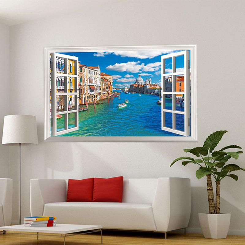 Diy Wall Art For Living Room: Aliexpress.com : Buy 3DVinyl Wall Decorations Wall Art