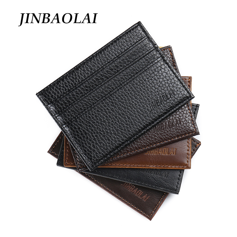 Hot Sale Vintage Slim Mini Wallet Artificial Leather Credit Card Holder Case ID Pocket Purses Travel Wallet