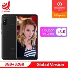 Orijinal Küresel Sürüm Xiao mi mi A2 Lite 3 GB 32 GB Android TEK Snapdragon 625 Octa çekirdek 5.84
