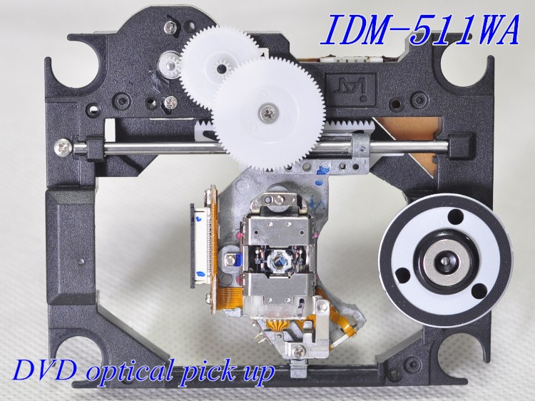 Original DVD OPTICAL PICK UP (IDP-200A plastic WITH MECHANISM) IDM-511WA (IDM511WA / IDP 200A / IDM 511WA )