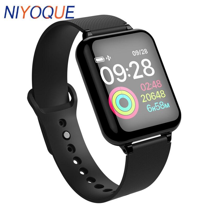 Smart Armband Wasserdichte Smartwatch Herz Rate Monitor Mehrere Sport Modell Fitness Tracker Tragbare Geräte Für Männer Frauen Geschenk