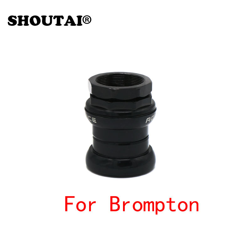 34mm Aluminum Bicycle External Headset For Brompton Bike 28.6mm (1 1/8