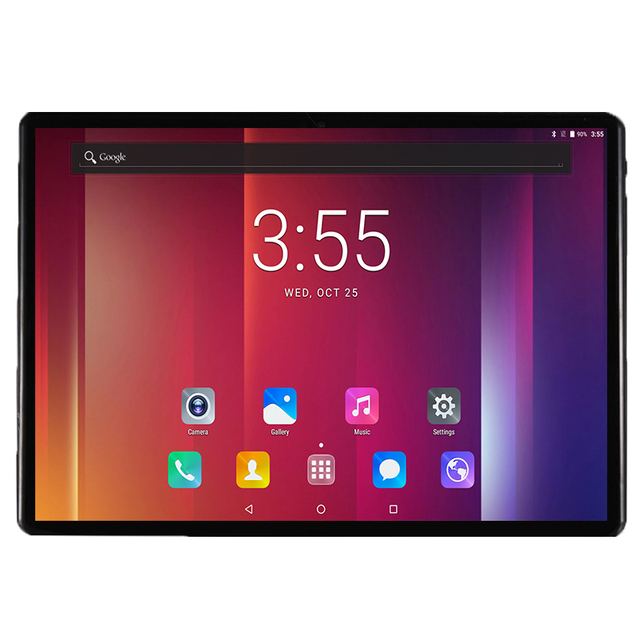 2019 Global Versão 10 polegada tablet Deca Núcleo 64 4 gb RAM gb ROM 4g FDD LTE 1920*1200 IPS Dual SIM Card Wifi GPS Android 7.0 tablet