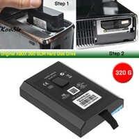 Disco duro Original de 320G para XBOX 360 Consola delgada E disco duro de 320GB HDD para Microsoft Xbox 360 S/E consolas