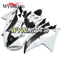 Complete ABS Plastic Injection Carbon Fiber Effect Motorcycle Fairings For Yamaha YZF R6 Year 2008 2016 Body Frames