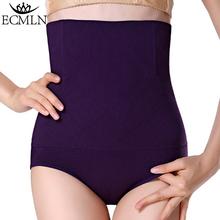 Women High Waist Tummy Control Panties Waist Body Shaper Seamless Belly Waist Slimming Pants Panties Shapewear dropshipping cheap Shapers Nylon ECMLN Standard None Medium E-A307-MY Broadcloth