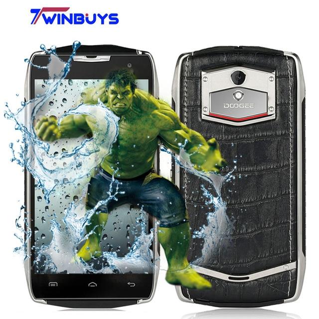 "Doogee T5 Smartphone 4500mah IP67 Waterproof Shockproof 5.0""Android 6.0 Octa Core MTK6753 3G RAM+32G ROM 13M 4G LTE Mobile phone"