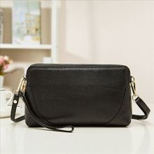 Brand Feminine Top Flap Quality Day Clutches 100% Genuine Leather Messenger Bag Women Bags Ladies' Clutch Bags 2019