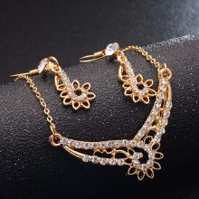H:HYDE 4 Design Rose Gold Color Bridal Jewelry Sets & More for Women Wedding with High Quality AAA Zircon(China)