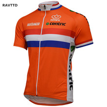 Netherlands Pro Team Short Sleeeve Cycling Jersey Roupa Ciclismo Bike Wear  Cycling Jersey Ciclismo Breathable Bicycle 758ad9887