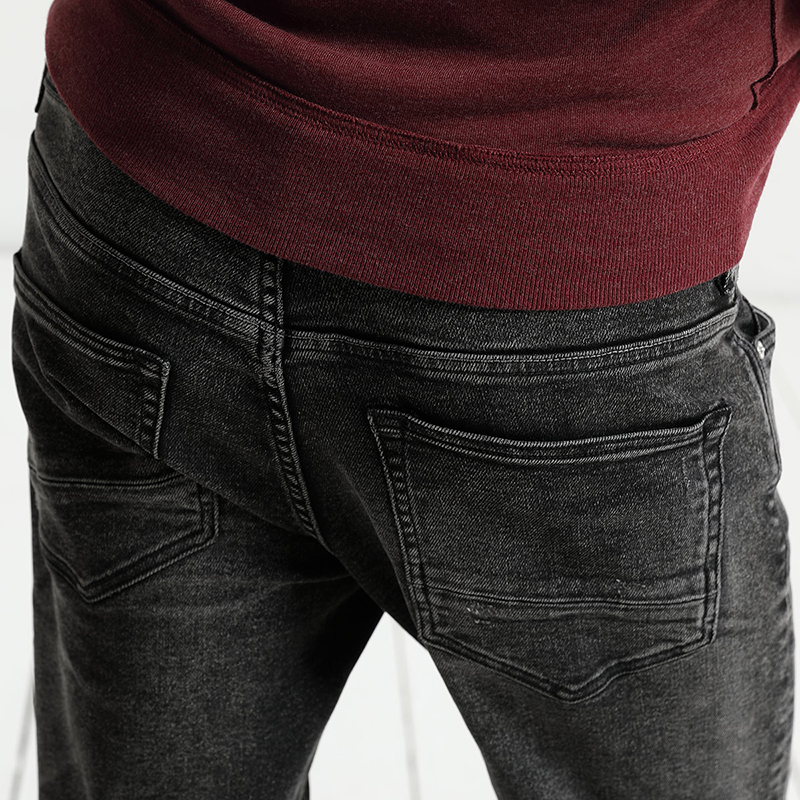 Image 4 - SIMWOOD 2020 spring  New Scratched Jeans Men Classic Casual Jeans